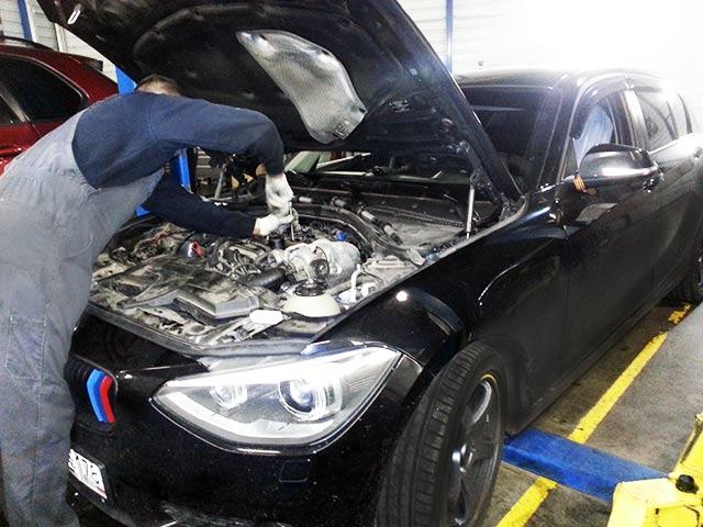 BMW e53 замена масло в автомате