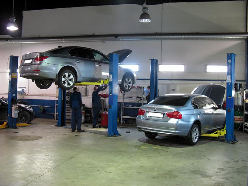 замена масла в акпп BMW 530i e60