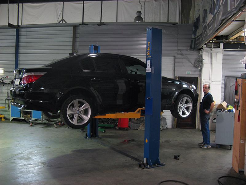 BMW e60 530d акпп замена масла